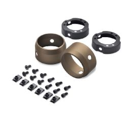 "Harley-Davidson® Bronze 3.25"" End Caps 65100107"