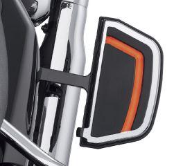 Harley-Davidson® Spectra Glo Passenger Footboard Inserts 50500495