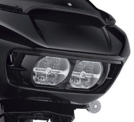 Road Glide Headlamp Trim - Gloss Black