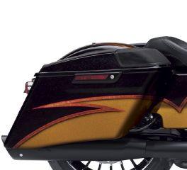 Harley-Davidson® Limited Series Kingdom - Stretched Boom! Audio Saddlebags 92200070EEB