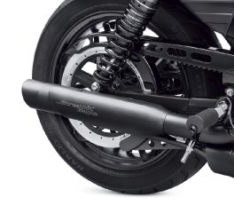 Harley-Davidson® Screamin' Eagle Muffler Shields - Slash Cut 65400405