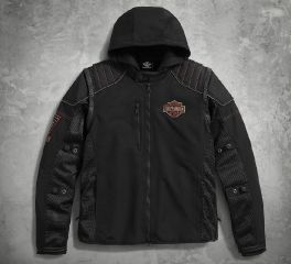 Harley-Davidson® Men's Sully 3-in-1 Convertible Mesh Jacket 98176-17VM