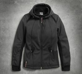 Harley-Davidson® Women's Wind-Resistant Soft Shell Mid-Layer Jacket 98584-17VW