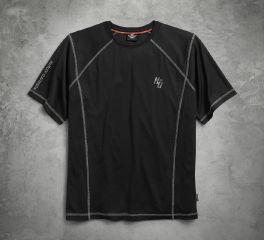 Harley-Davidson® Men's Performance Tee with coldblack® Technology 99004-17VM