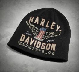 Harley-Davidson® Men's Winged No1 Knit Hat 99488-17VM