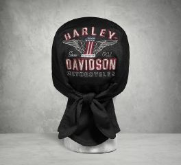 Harley-Davidson® Men's Performance Winged No1 Knit Skull Cap 99489-17VM