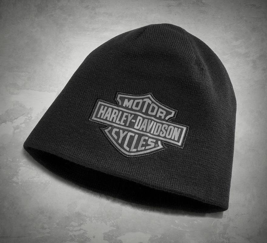 1a855f1ae Harley-Davidson® Men's Reversible Logo Knit Hat