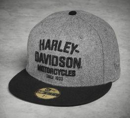 Harley-Davidson® Men's Wool 59FIFTY® Cap 99499-17VM