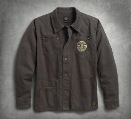 Men's Workwear Slim Fit Casual Jacket