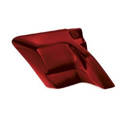 Harley-Davidson® Hot Rod Red Flake Custom Stretched Side Covers 61300671ECN