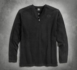 Men's Contrast Stitch Knit Shirt