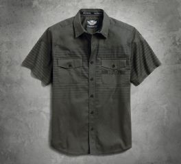 Harley-Davidson® Men's Multi-Stripe Shirt 96508-17VM