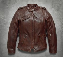 Harley-Davidson® Women's Uproot Leather Jacket 97172-17VW