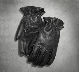 Harley-Davidson® Men's Treadway Distressed Leather Gloves 97386-17VM
