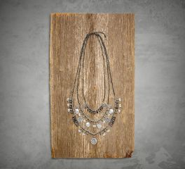 Harley-Davidson® Women's Diamond Dust Multi-Chain Necklace 97837-17VW