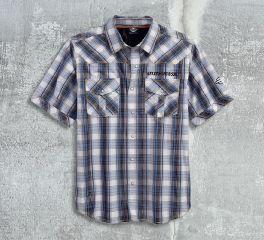 Men's Peformance Vented Plaid Shirt