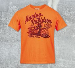 Boys Ride Two Tee Top T-Shirt, RK Stratman Inc. R002262
