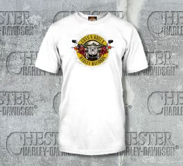 Men's Guns N' Roses Cover White Short Sleeve Tee Top T-Shirt, Bravado International Group, Inc. 30298547