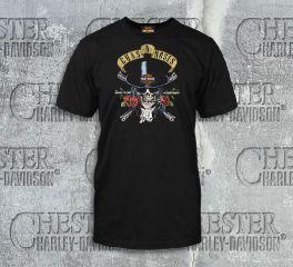 Men's Guns N' Roses Top Hat Short Sleeve Tee Top T-Shirt, Bravado International Group, Inc. 30298557