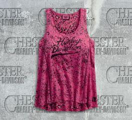 Harley-Davidson® Women's Pink Label Leopard Print Tank, Harley-Davidson® 96032-18VW