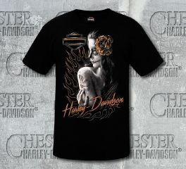 Harley-Davidson® Men's Perfection Tee Top T-Shirt, RK Stratman Inc. R002374