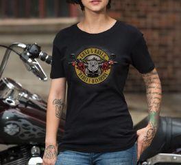 Women's Guns N' Roses Cover Short Sleeve Tee Top T-Shirt, Bravado International Group, Inc. 30298571