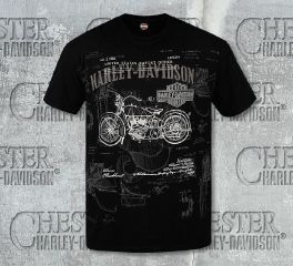 Men's Invented Tee Top T-Shirt, RK Stratman Inc. R002411