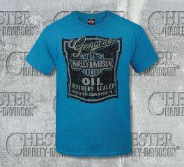 Men's Oil Chip Tee Top T-Shirt, RK Stratman Inc. R002390