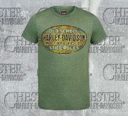 Men's Old Rust Tee Top T-Shirt, RK Stratman Inc. R002203