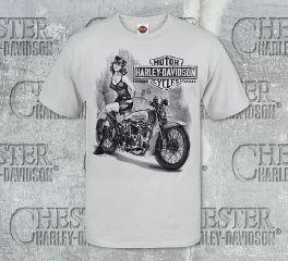 Harley-Davidson® Men's MC Grin Tee Top T-Shirt, RK Stratman Inc. R002196