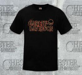 Men's Fire On Tee Top T-Shirt, RK Stratman Inc. R002092