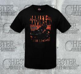 Men's Bold Block Tee Top T-Shirt, RK Stratman Inc. R001919