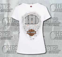 Harley-Davidson® Women's H-D Money Tee T-shirt Top, RK Stratman Inc. R002166