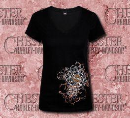 Women's After Dark Tee Top T-shirt
