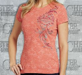 Women's Delacey Short Sleeve Tee Top T-Shirt