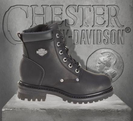 Harley-Davidson® Women's Shawnee Leather Boots, Wolverine D84399