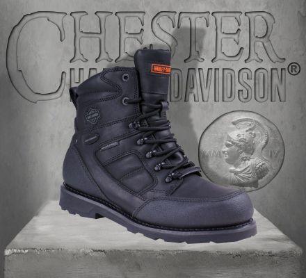 Harley-Davidson® Harley-Davidson Men's Caldwell Waterproof Boots RRP £194.99, Wolverine D96036