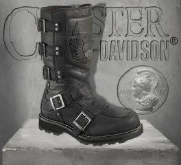 Harley-Davidson® Men's Motocruz Leather Motorcycle Boots, Wolverine D96054