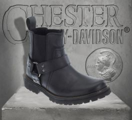 Harley-Davidson® Men's Duran Leather Boots - Black