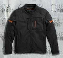 Harley-Davidson® Men's Longhorn Windproof Riding Jacket 97169-17VM