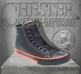 Harley-Davidson® Men's Nathan Hi-Top Sneakers