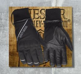 Harley-Davidson® Men's Rally Soft Shell Gloves 98365-17EM