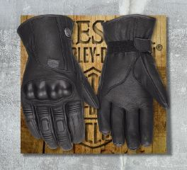 Harley-Davidson® Women's Commuter Leather Gloves 98372-17EW