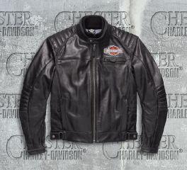 Harley-Davidson® Men's Legend Leather Jacket 98125-17EM