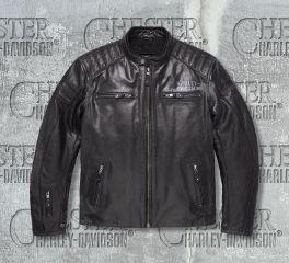 Harley-Davidson® Men's No.1 Skull Leather Jacket 98128-17EM
