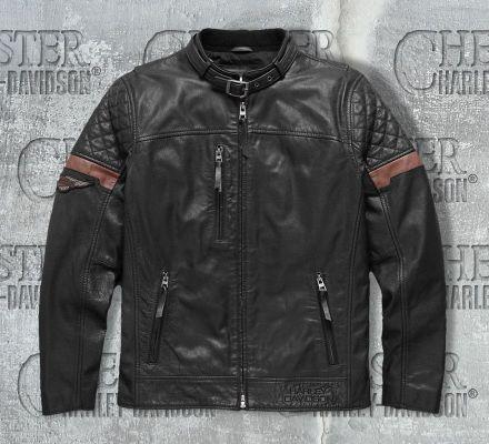 Harley-Davidson® Men's Varick Leather Jacket 97165-17VM