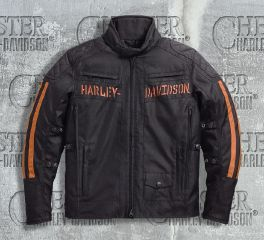Harley-Davidson® Men's Foley Waterproof Riding Jacket 97158-17VM