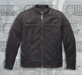 Harley-Davidson® Men's Thornton Buffed Leather Jacket 97156-17VM