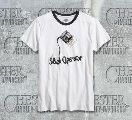 Men's Slick Operator Ringer Tee
