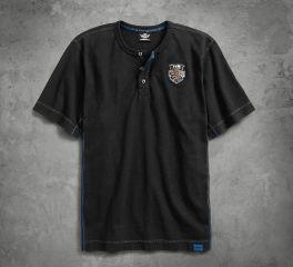 Harley-Davidson® Men's 115th Anniversary Henley Tee 99014-18VM